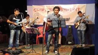 Download Hindi Video Songs - Tumi asbe bole tai - Live