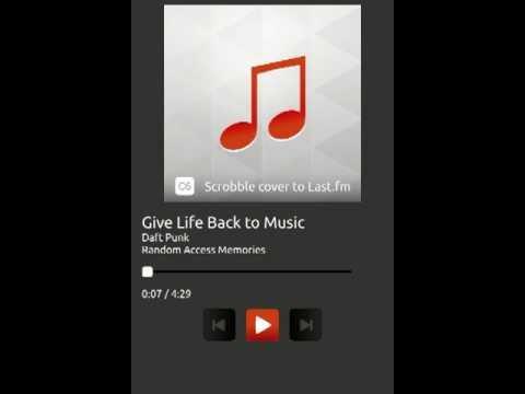 Music App for Ubuntu Touch v0.4x