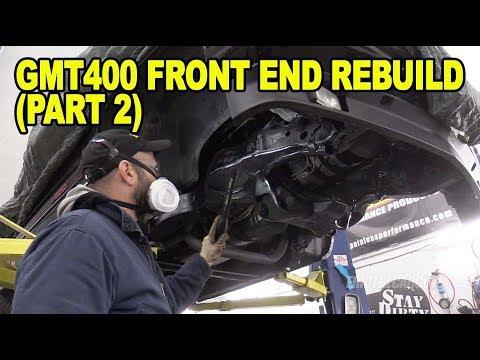 GMT400 Front End Rebuild (Part 2) #ETCGDadsTruck