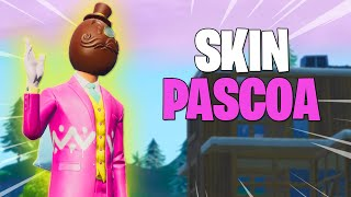 MITEI WITH THE NEW PASCOA EGG SKIN! -Fortnite Battle Royale