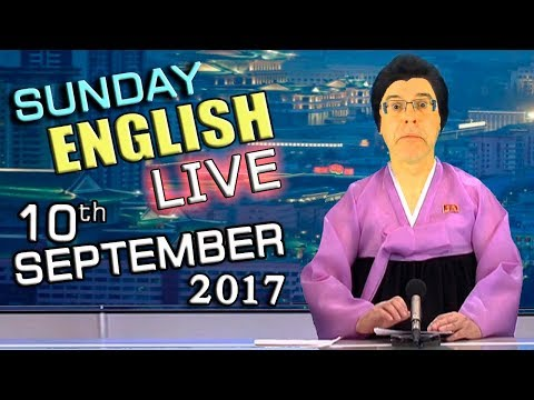 LIVE English Lesson - 10th SEPT 2017 - Learn to Speak English - Grammar - Words - Pronunciation