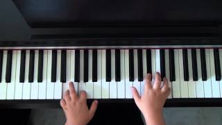 Rigaudon de GOEDIKE Méthode de Piano C Hervé et J Pouillard édition Henry Lemoine