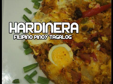 Paano magluto Hardinera Recipe - Filipino Meatloaf Tagalog Pinoy