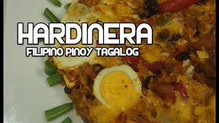 Hardinera Recipe - Filipino Meatloaf Tagalog