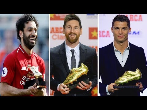 All Time Golden Boot Winners (1968 - 2018)