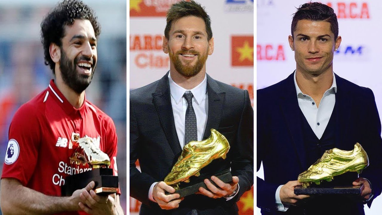 all time golden boot winners 1968 2018 youtube
