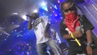 hurricane chris and lil boosie song medly (bet hip hop awards 2007)