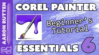 How to Use Corel Painter Essentials 6 - Easy Tutorial for Beginners