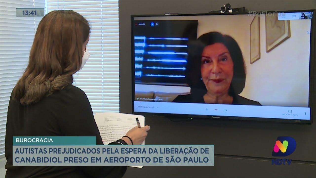 Autistas prejudicados pela espera da liberação de Canabidiol preso em aeroporto de São Paulo