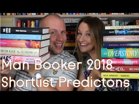 Man Booker Prize Shortlist Predictions 2018