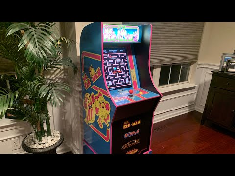 MS PAC-MAN Arcade1up FULL REVIEW! from The 3rd Floor Arcade with Jason