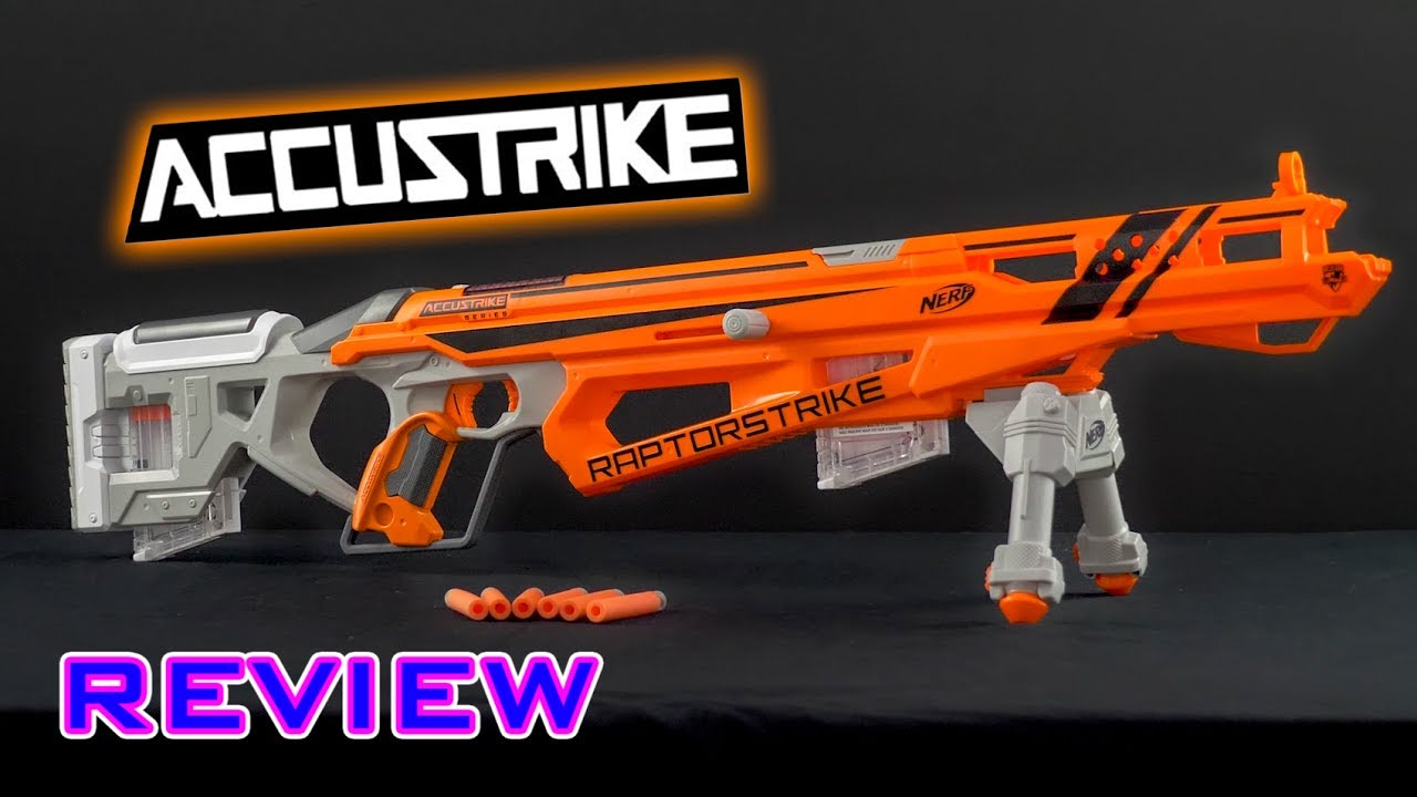 Nerf Accustrike Review – Nerf Accustrike Raptor Strike Review