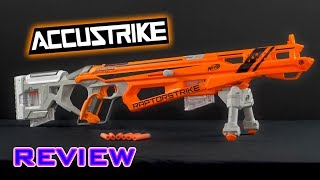 [REVIEW] Nerf Accustrike Raptorstrike Unboxing, Review, & Firing Demo