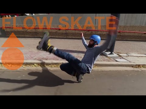 FALL SKATE FLOW SKATE - Inline skating (rollerblading) downtown Calgary