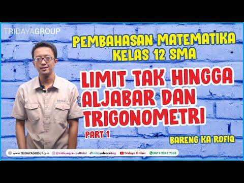 Limit Tak Hingga & Trigonometri Part 1