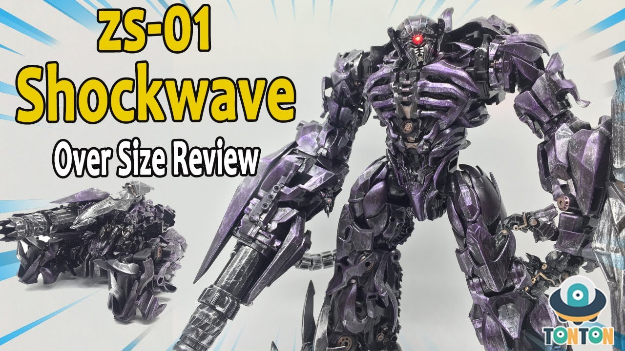 Zeus Magic Toy ZS-01 Oversized SS56 DOTM Shockwave by TonTon Review