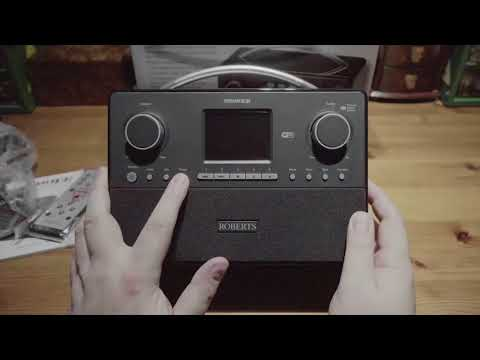 Roberts Stream 93i Radio Unboxing