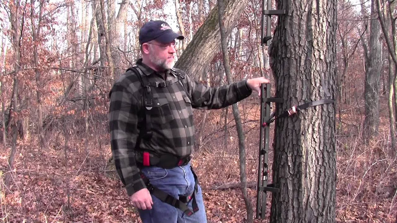 maxresdefault gorilla safety harness treestand safety tips youtube