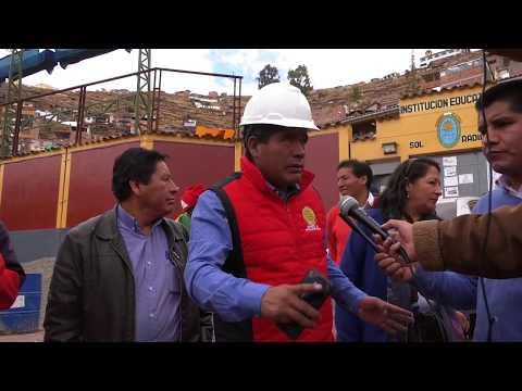 INFORME DE  13 CALLES EN VIVA EL PERÚ Y  EN TIOBAMBA