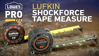 Lufkin Shockforce Tape Measure | Pro Picks from Lowe's Pro