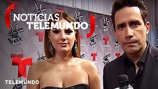 Daisy Fuentes junto a Camilo Montoya | Noticias | Noticias Telemundo