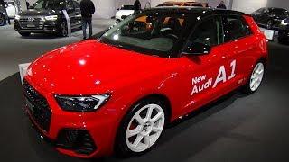 2019 Audi A1 30 TFSI S-Line - Exterior and Interior - Auto Zürich Car Show 2018