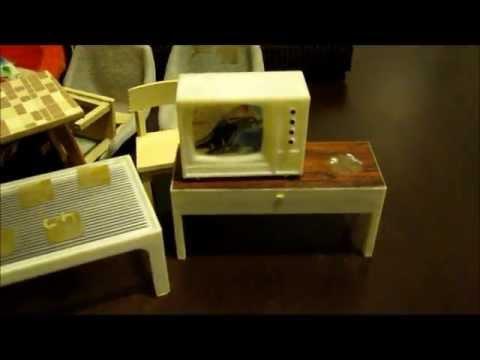 TSS vlog test #1: Vintage German furniture unboxing