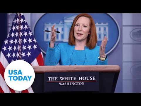 White House Press Secretary Jen Psaki holds press briefing | USA TODAY