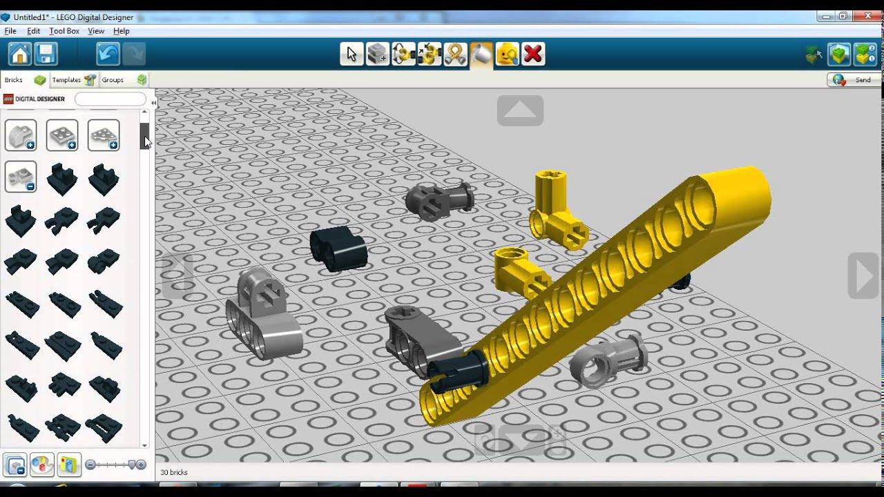 Lego Digital Designer Tips And Tricks 2 2 Youtube