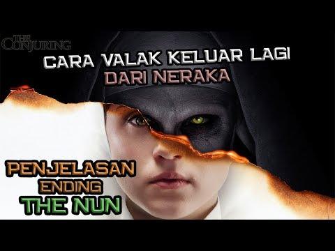 Penjelasan Ending The Nun | Cara Valak Keluar Lagi Dari Neraka | The Conjuring Universe
