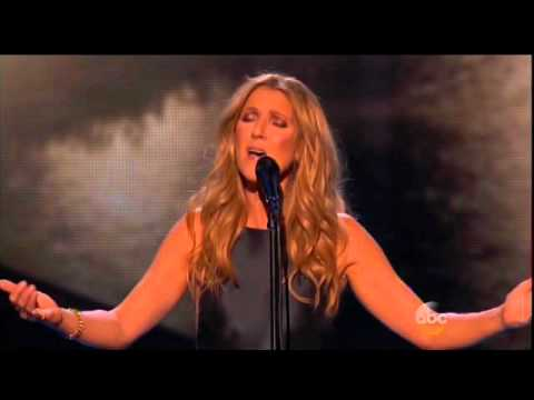 Celine Dion AMA tribute for Paris.