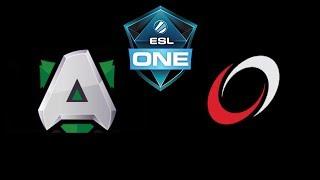 Alliance vs coL ESL One Katowice 2019 Highlights Dota 2