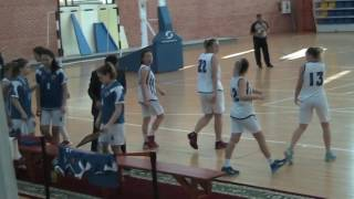 Женская Высшая лига: Актау7292 - ЮКО МарС (19.02.2017)