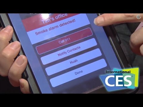 CES 2015 - Remote Lync Keeps Your Home Safe! - GetConnected TV