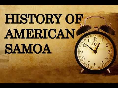 History of American Samoa