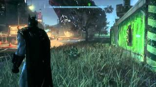 Batman Arkham knight : Getting riddlers trophy in the container