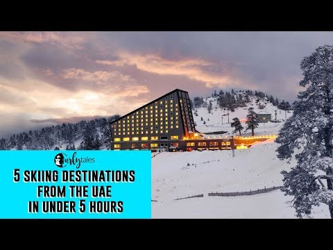 5 Skiing Destinations From The UAE Within 5 Hours | Curly Tales