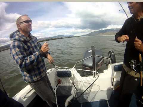 Fishing Series #1 Lake Benmore Fishing