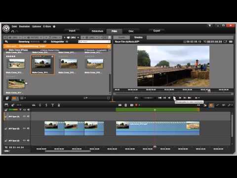 Zeitlupe und Zeitraffer in Pinnacle Studio 16 und 17 Video 46 von 114
