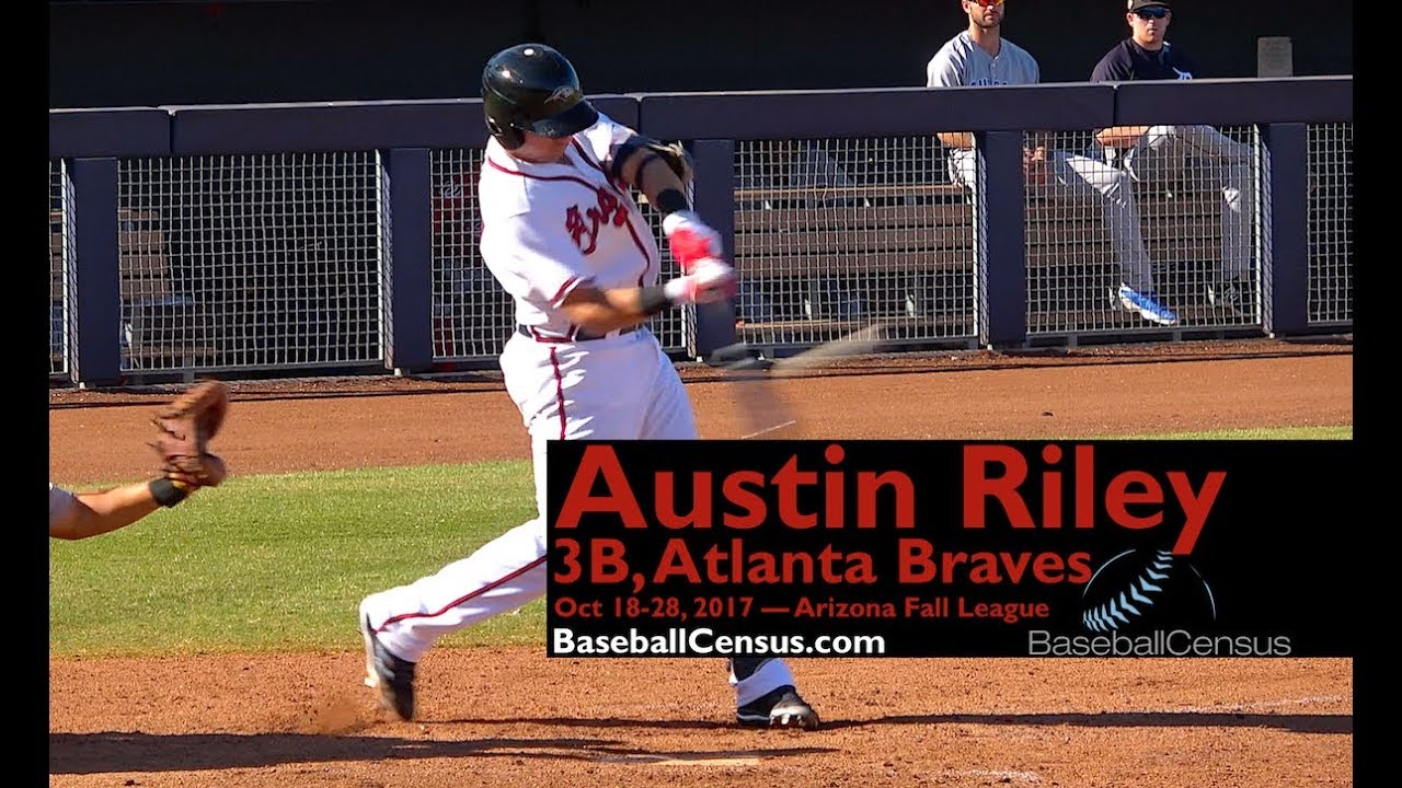Braves' Austin Riley homers in first big league game