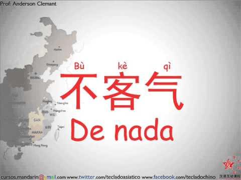 Chino Mandarín 01 Practicando las (Buenas costumbres , Saludos y ...