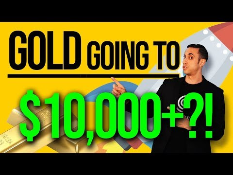 Is GOLD Going To $10,000 Per Ounce!? Gold Hits Fresh Multi-year Tops, New Gold BULL Market (GLD)