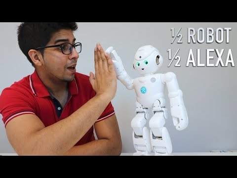 UNBOXING & LETS PLAY! – LYNX HUMANOID ROBOT – powered by AMAZON ALEXA – FULL REVIEW!