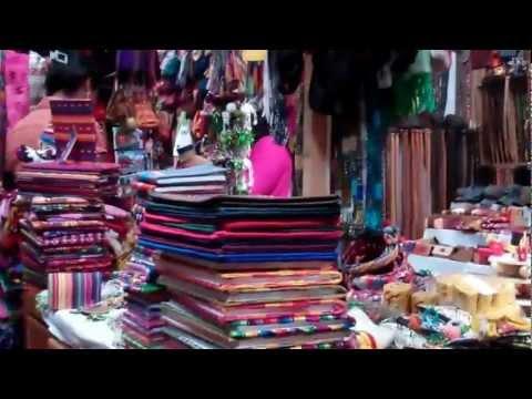 El Mercadito in the center ot Antigua, Guatemala.  Great place to shop.