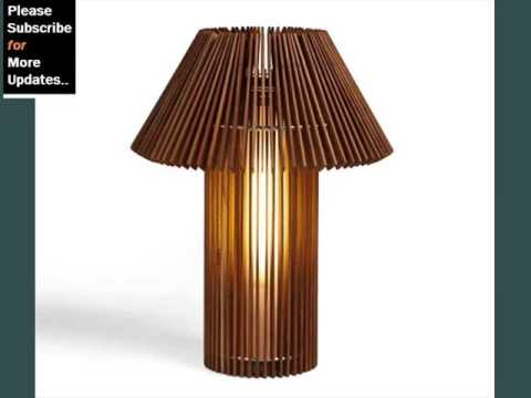Modern Wood Table Lamps Youtube