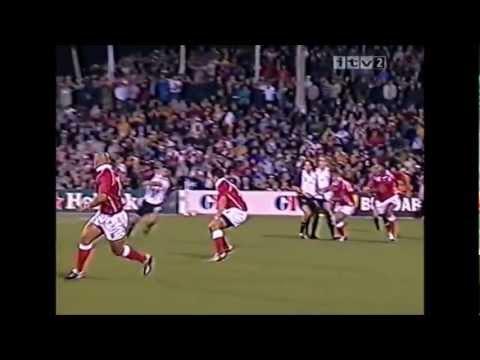 Canada set move try vs Tonga 2003