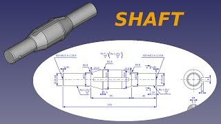Freecad course - Shaft