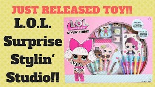 NEW RELEASE!! | LOL Surprise Stylin Studio with Lil Snuggle Babe, Lil Sprints, Rocker, and Queen Bee
