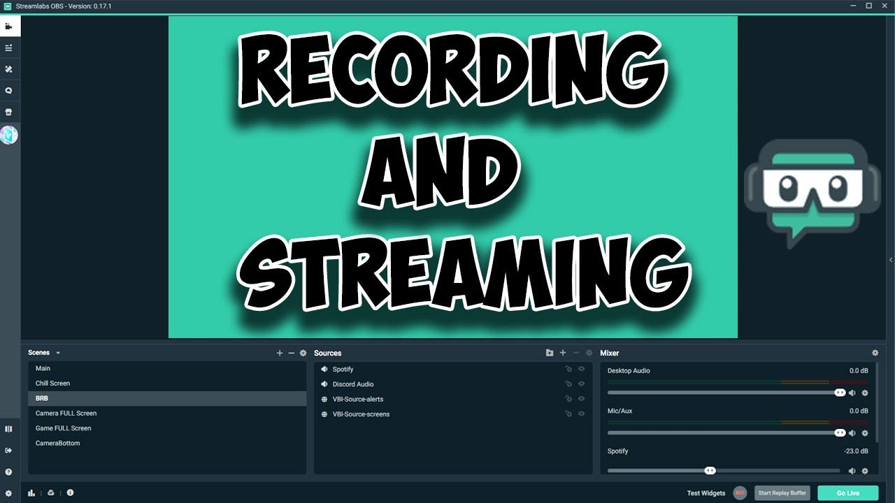 Streamlabs Obs Best Settings 2019 for Streaming and Recording - Crystal  Clear!