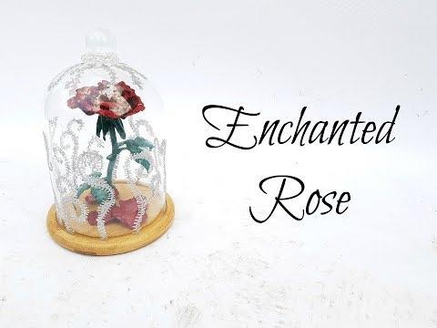 DIY: Enchanted Rose - Beauty & the Beast